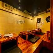 日本酒と料理の絶妙なマッチングを堪能。親しい人と至福の時間を