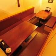 お酒のバリエーションも日本酒を中心に和洋さまざま。個室でたっぷりお酒も楽しめます。合コンなど大切な場面にも安心して利用できるお店です。