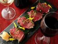 高い満足度で〆にピッタリ『肉寿司』
