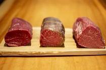 全日本唯一の和牛三種シャトーブリアン食べ比べ