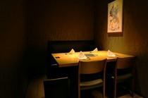 完全個室小、夜景なし、プライバシー保護最高