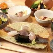極上江戸前鮨×季節の逸品料理で織りなす『おまかせコース』
