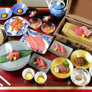 和牛のトップブランド「神戸ビーフ」をリーズナブルな価格で気軽に食べられる一皿。神戸肉流通推進協議会の指定登録店なので、最高級の品質のお肉が提供されています。贅沢な気分を味わうことができます。