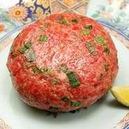 本日の肉寿司、サーロイン、シャトーブリアン