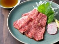 素材の魅力を実感する『仙台牛スッケ』