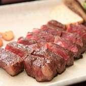 とろける旨さ! 『千葉県産しあわせ絆牛サーロインステーキ』