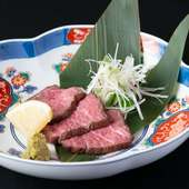 味も香りも別格。肉のプロが厳選して仕入れる「国産黒毛和牛」