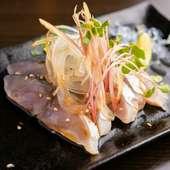 刺身のような感覚で食べられる鯖の浅漬け『自家製きずし』