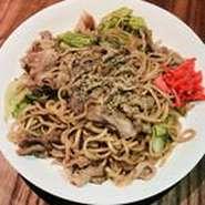 富士宮焼きそば特有のもちもちした麺を是非味わってみて下さい。