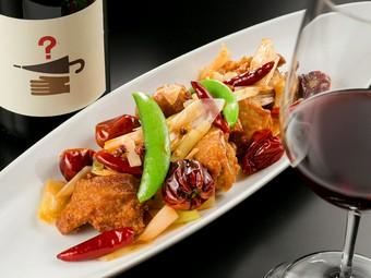 「オンリーワンの中華」というコンセプトで個性的な料理を