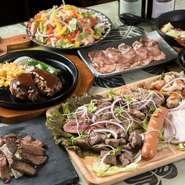 15名以上なら貸切ることもできます。予算に応じてコース料理の内容を設定してくれるので、気軽に相談してみては。見た目にもオシャレな料理の数々で、女子会はもちろん、企業の宴会利用も叶います。