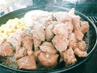 柔らか~いアンガス牛ステーキ!バジルバターソースとの相性バツグン!