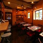 女性は絶対喜びます!雰囲気の良い店内と美味しい料理に美味しいお酒、これはもう話が弾みますね!