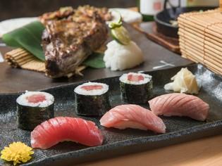 その日に仕入れた新鮮なネタが何より自慢の『寿司』