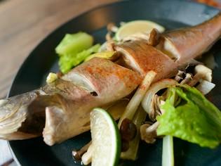 北海道から定期的に直送仕入れをする、新鮮な魚介類