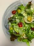 自家製ならではのフレッシュリコッタチーズと新鮮野菜で頂くシンプルなサラダ