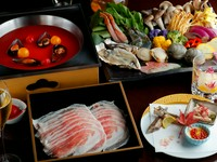 魚介の旨みとリコピンたっぷり!ブイヤベース風『リコピン美鍋』コース