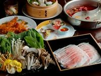 日本人好みの麻辣スープ×「烏骨鶏」出汁の白湯スープ『火鍋』コース