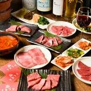 牛肉をはじめ取り扱う肉は全て、産地やブランドにこだわらず、目利きで厳選したこだわりの肉ばかり。価格も比較的リーズナブルな設定。上質な味わいを是非、賞味あれ。