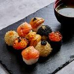日本料理体験!手まり寿司、浅漬け、みそぼーる(お味噌汁)の3種類のメニューを作ります◎初心者、お子様大歓迎!英語対応可能!旅行、おもてなしなどで大人気!ウニ・キャビア・金箔などのスペシャルプラン!