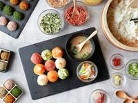 日本料理を作る体験をしたい方にオススメ◎手まり寿司、浅漬け、みそぼーる(お味噌汁)の3種類のメニューを作ります◎初心者、お子様大歓迎!英語対応可能!旅行、おもてなしなどで大人気!お気軽にご参加ください♪