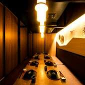 シチュエーションを限定させない、個性豊かな個室