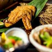 ヤミツキの味わい『鶏手羽の香味揚げ』