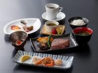 旨味たっぷりアワビ&黒毛和牛ステーキの贅沢なコースです お肉により価格が変わります