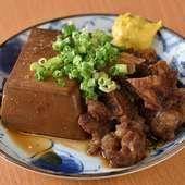 酒場の肉豆腐