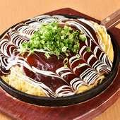 ジュージューっと、ソースが香りたつ『広島風お好み焼き』