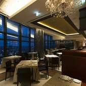東京・銀座の町並みを一望できる天空レストラン