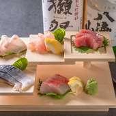 北海道の生ウニやノドグロも! その日仕入れた鮮魚7~10種から、好みで選べる『刺身五点盛り』
