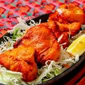 スパイスが効いたインド版焼肉『チキンティッカ(4p)』