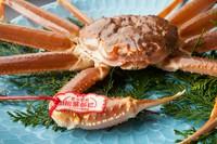 刺身、かにすき、焼がに、茹でがに、味噌は甲羅焼きにて提供します ※かにすき(2人前の野菜)は1000円プラス ※当日の仕入れ値により値段変更あります。