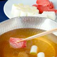 東京のご当地料理『ねぎま鍋』