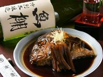 鯛の旨みが溶けだした甘辛いたれは絶品の味わい『煮魚 鯛頭煮』