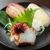 旬の厳選ネタにぎり寿司