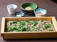 彩り、食感ともに抜群の地産地消メニュー『栃木の郷土蕎麦』