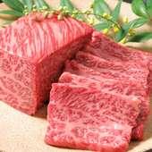 早くも話題、贅沢素材の新メニュー『仙台牛炙り焼肉』(価格は100g~)