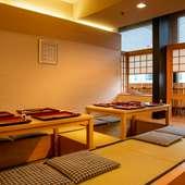 大切な家族のお祝いにふさわしい空間と、彩り美しい京会席