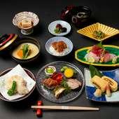 多彩な鰻料理を味わえる『鰻会席献立』