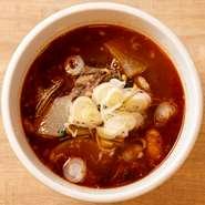 テールスープ(赤)