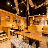 席の予約もOK。友人との飲み会や女子会などに適した地下席