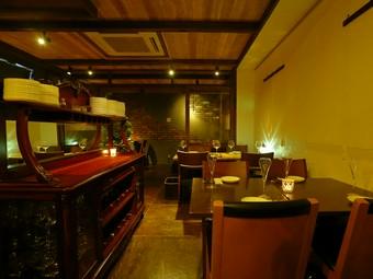 心地良い空間で、温もりのこもったイタリア料理を楽しめる店