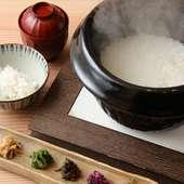 京丹波こしひかりの釜炊きごはん