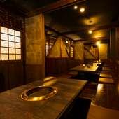 各種宴会に。個室席は扉を外して多人数で利用することも可能
