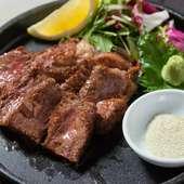 長崎和牛のステーキ