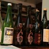 お酒は日本全国の隠れた銘酒など120種類ほどを常備