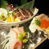 海鮮浜焼き60種以上のお料理が食べ放題!生ビールを含む約200種の飲み放題付きコースです。