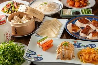 中華の本領であるフカヒレの姿煮、ホタテ料理を含む全11種のご宴会コースです。ぜひ一度ご賞味下さい!